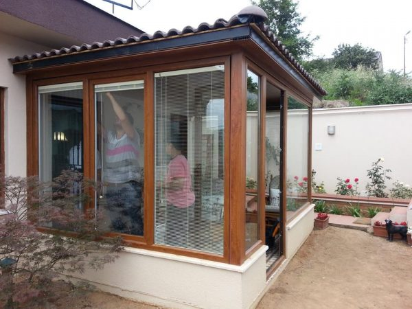 Kapalı Çatı Kış Bahçesi Modelleri