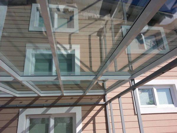 Hazır Demonte Kış Bahçesi Villa kış bahçesi modelleri cam çatı etrafı kömmerling pvc pencere sistemleri