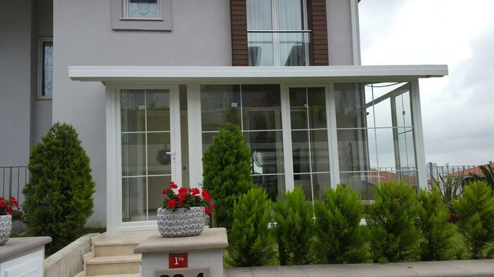 Giriş Kapalı Çatı Kış Bahçesi Modelleri Fiyatları