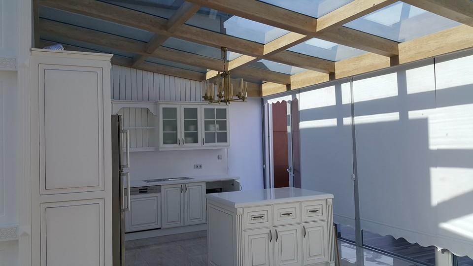 Başakşehir Cam Tavan Çatı Teras Alüminyum Hbşb Kış Bahçesi Modelleri
