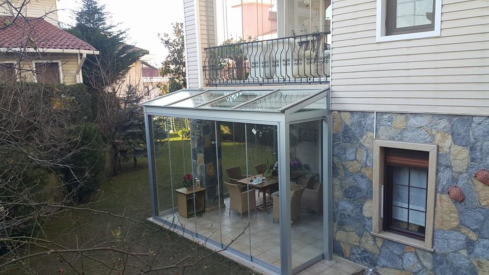 Sürme Camlı Kış Bahçesi Modelleri