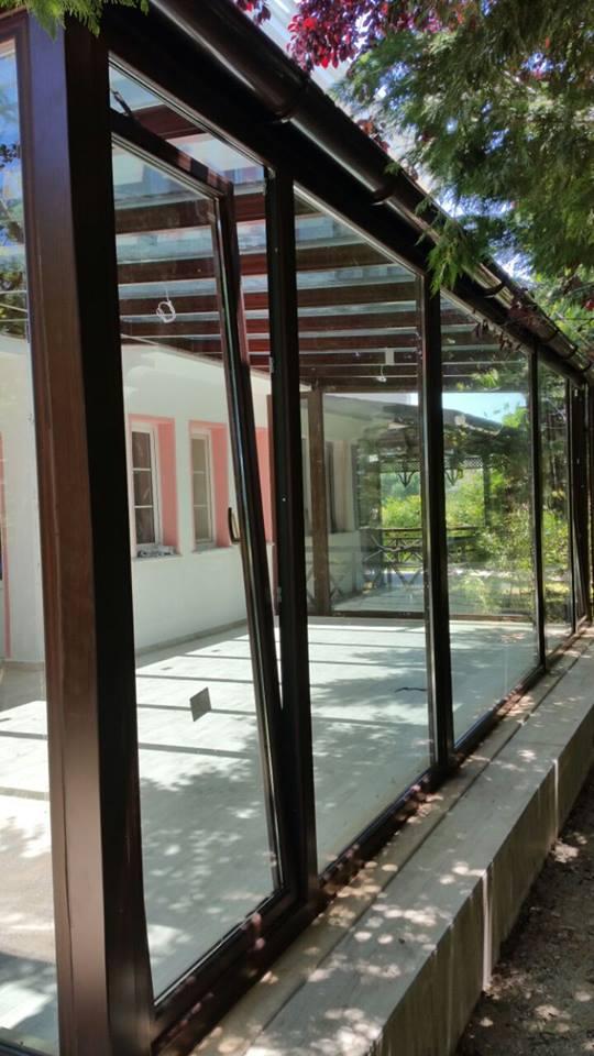 Şile Cam tavan Kış bahçesi Modelleri