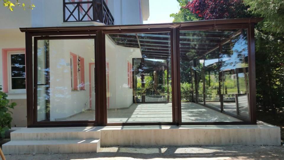 Şile Cam Tavan Renkli Kış Bahçesi