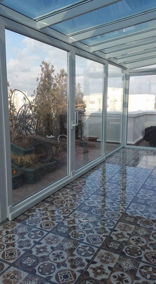 Cam Tavan Teras Kış Bahçesi Modelleri