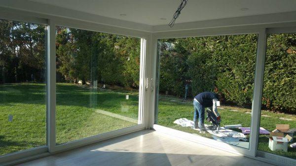 Kapalı çatı Kış bahçesi Modelleri Alkent 2000 sitesi