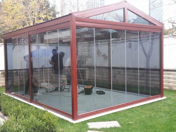 Katlanır Cam Kış Bahçesi Modelleri