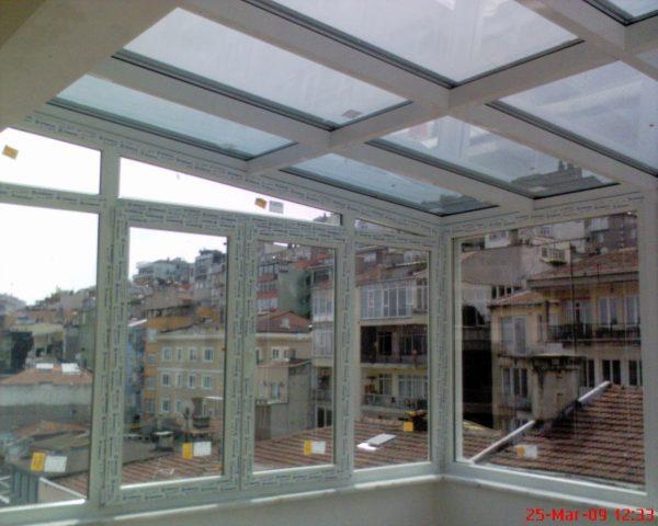 Cam ve teras kapatma sistemleri modelleri