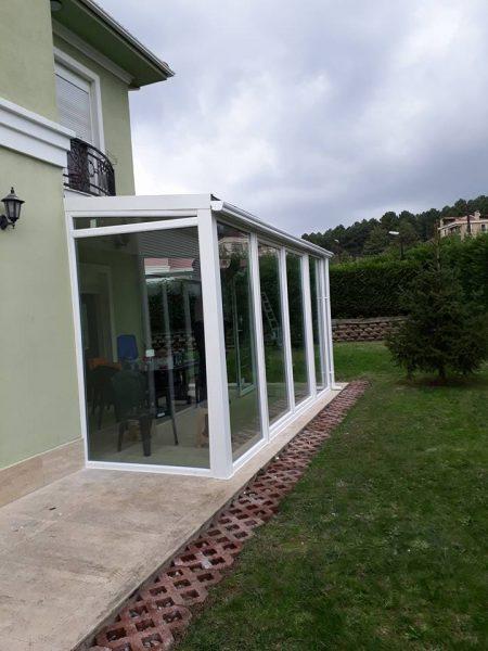 Çekmeköy Arges Villaları Kapalı Çatı Kış Bahçesi Uygulama