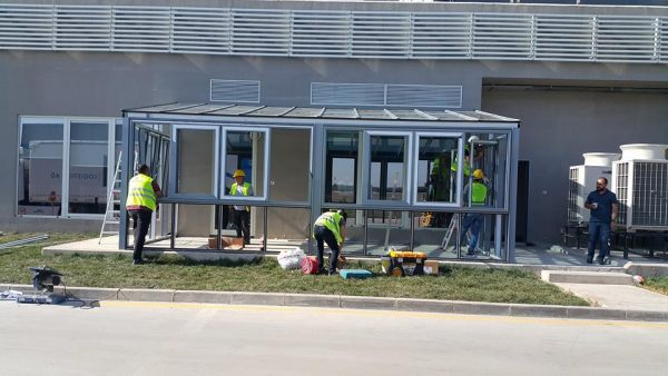 Alüminyum sistem cam çatı kış bahçe modelleri
